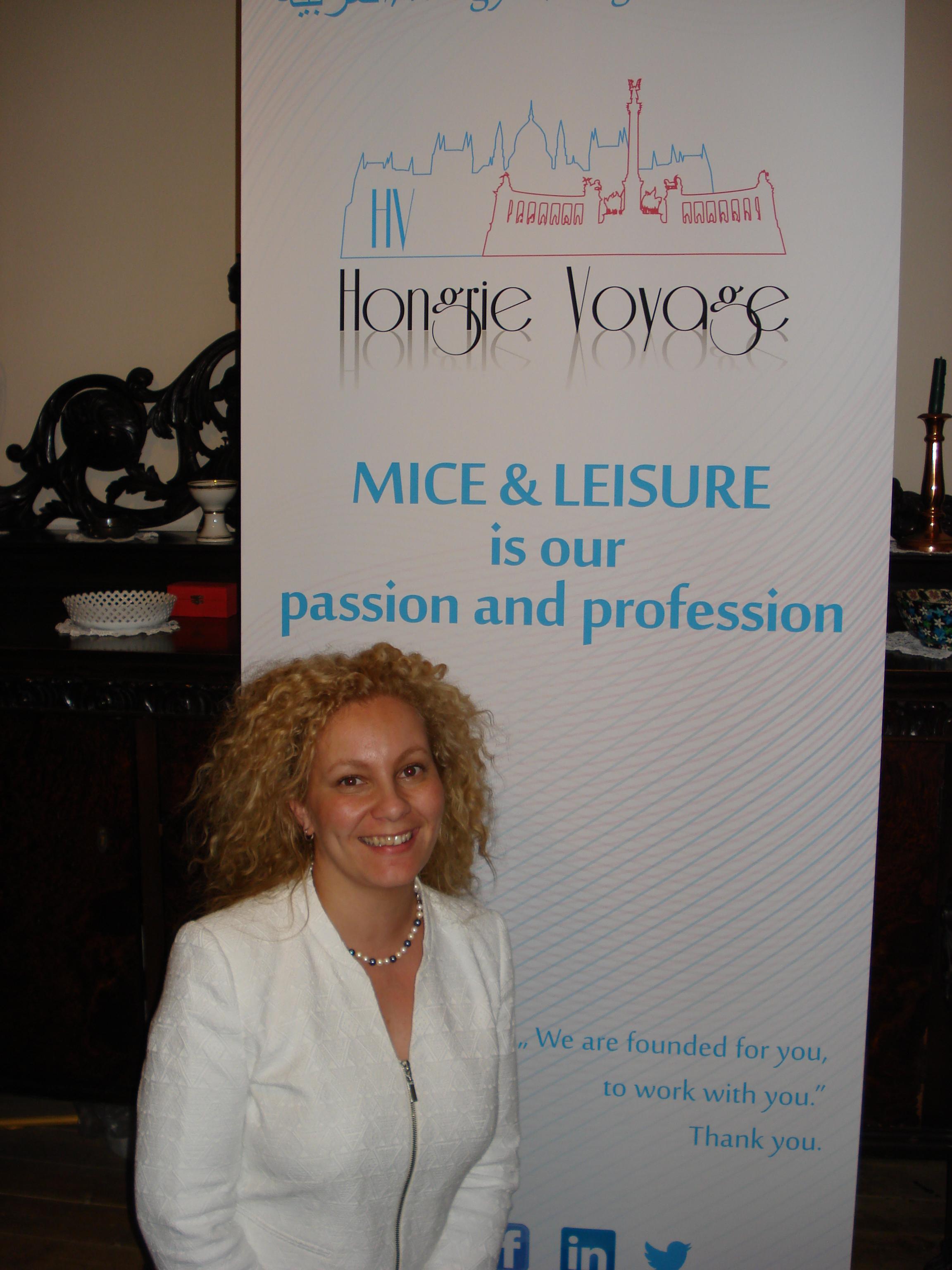 Lilia Chadi, Owner, General Manager Hongrie Voyage