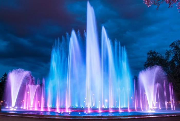 Budapest music tracklist of Margaret Island fountain